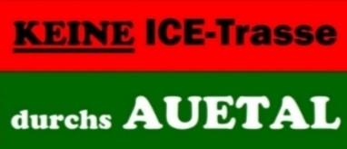 Keine ICE Trasse durchs Auetal
