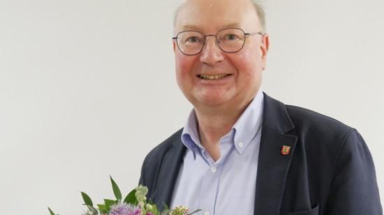 Ruediger Teich Buergermeister Kandidat der Gemeinde Auetal