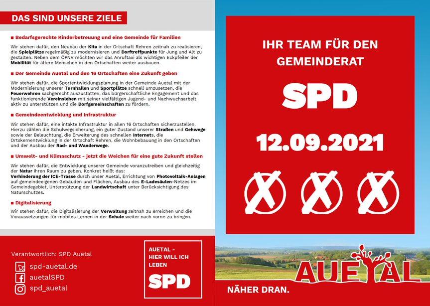 Kandidatinnen und Kandidaten Flyer