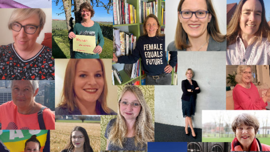 Collage Frauentag 2021
